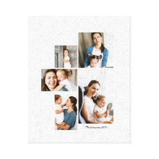 Impresión del collage de 5 fotos