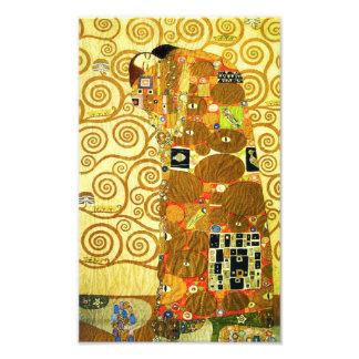 Impresión del cumplimiento de Gustavo Klimt Fotografía