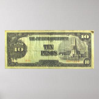 Impresión del ~ del dinero 10 de la invasión impresiones