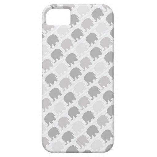Impresión del elefante iPhone 5 Case-Mate funda