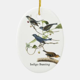Impresión del empavesado de añil de Audubon Ornamento Para Reyes Magos