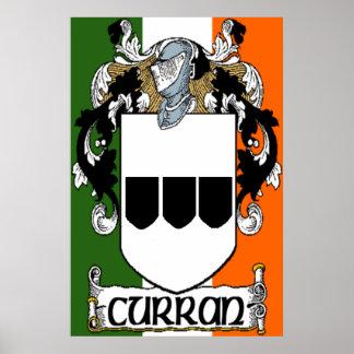 Impresión del escudo de armas de Curran Impresiones