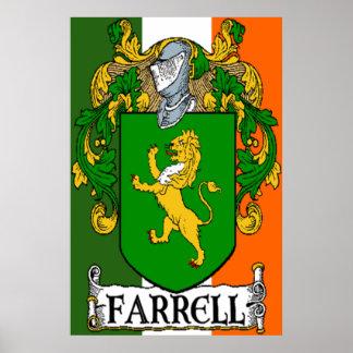 Impresión del escudo de armas de Farrell Impresiones