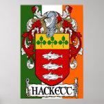 Impresión del escudo de armas de Hackett Impresiones