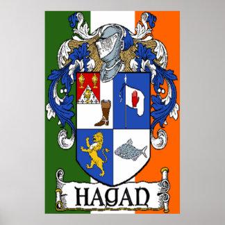 Impresión del escudo de armas de Hagan Impresiones