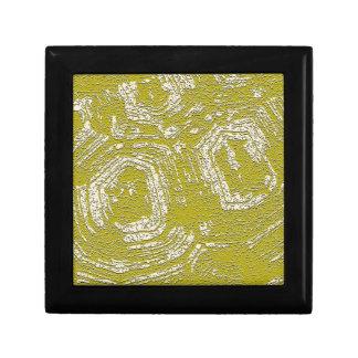 Impresión del extracto de la concha de la mostaza  caja de recuerdo