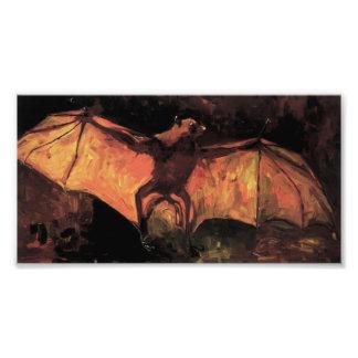Impresión del Fox de vuelo de Van Gogh Fotografía