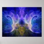 Impresión del fractal del iris impresiones