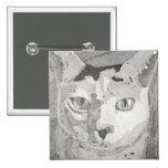 Impresión del gato pin