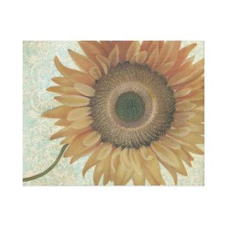 Impresión del girasol de la pintura al óleo impresión en lona