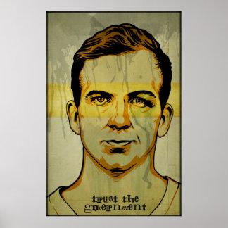 Impresión del gobierno de la confianza de Oswald Posters