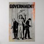 Impresión del gobierno posters