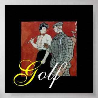 Impresión del golf impresiones