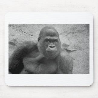 Impresión del gorila alfombrilla de raton