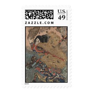 Impresión del grabar en madera de Utagawa Kuniyosh Envio