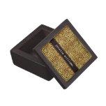 Impresión del guepardo caja de regalo de calidad