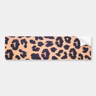 Impresión del guepardo pegatina para coche