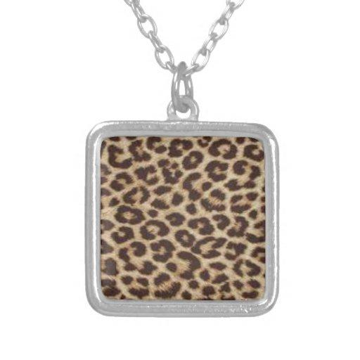 Impresión del guepardo colgante cuadrado