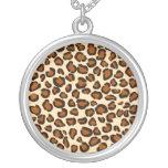 Impresión del guepardo - collar