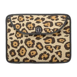 Impresión del guepardo fundas para macbooks
