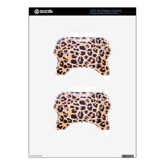 Impresión del guepardo mando xbox 360 skins