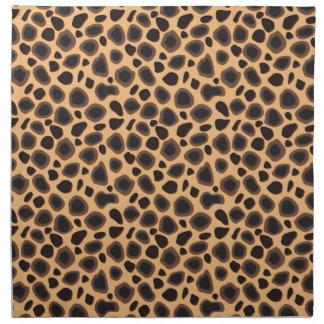 Impresión del guepardo servilleta de papel