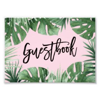 Impresión del Guestbook de las zonas tropicales Fotografías