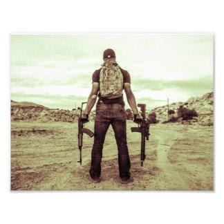 Impresión del Gunslinger Fotografía