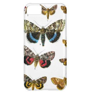 Impresión del insecto de la mariposa del libro de  funda para iPhone 5C