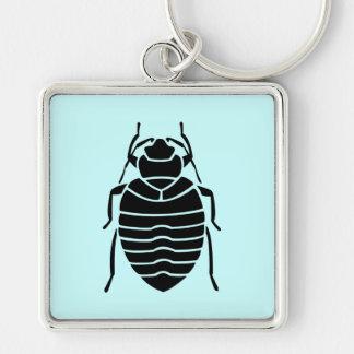 Impresión del insecto del chinche llavero personalizado