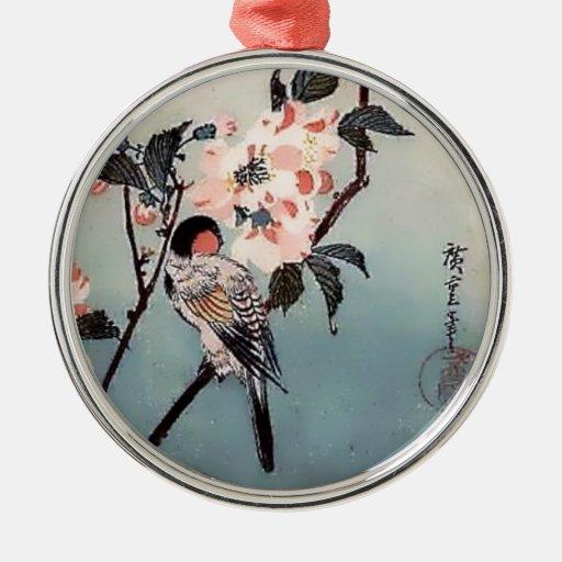 Impresión del japonés de la flor de cerezo del pin ornamento de reyes magos