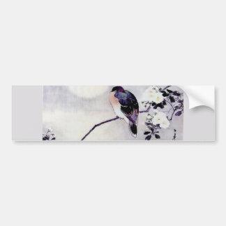 Impresión del japonés del pájaro de la canción pegatina para auto