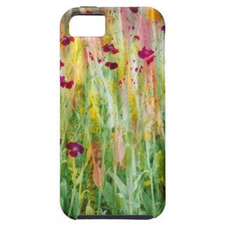 Impresión del jardín iPhone 5 carcasa