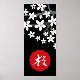 Impresión del jeroglífico de Sakura
