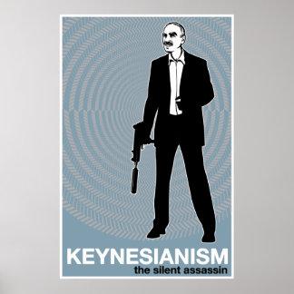 Impresión del Keynesianism Póster