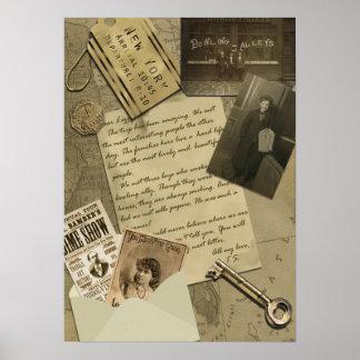 Impresión del libro de recuerdos de Nueva York del Impresiones