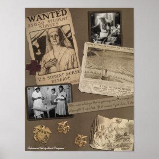 """Impresión del libro de recuerdos del """"oficio de en póster"""