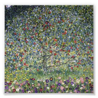 Impresión del manzano de Gustavo Klimt Fotografias