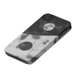 Impresión del mármol de Yin Yang Case-Mate iPhone 4 Cobertura