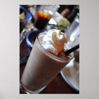 Impresión del Milkshake del chocolate Posters