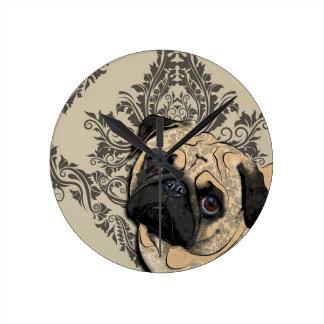 Impresión del modelo del mascota del extracto del  relojes