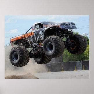 Impresión del monster truck de Rammunition Póster