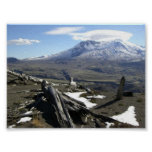 Impresión del Monte Saint Helens Posters
