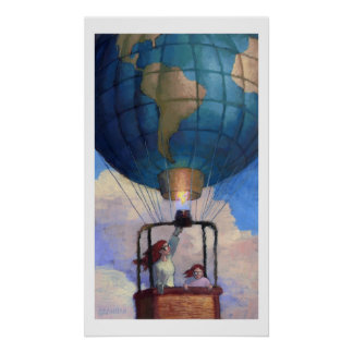 Impresión del mundo del globo impresiones