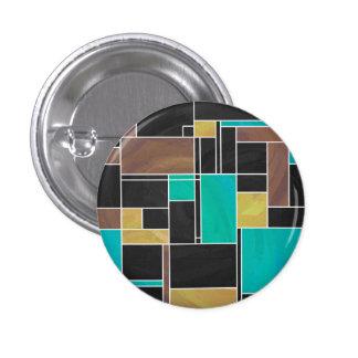 Impresión del negro de Brown del trullo de Chapa Redonda 2,5 Cm