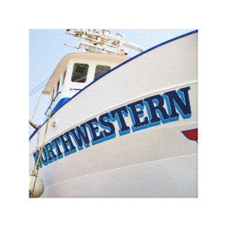 Impresión del noroeste envuelta lona de F/V Impresión De Lienzo