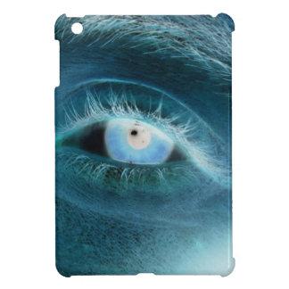 Impresión del ojo azul iPad mini fundas