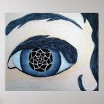 Impresión del ojo del tótem poster