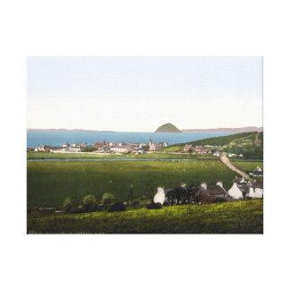 Impresión del paisaje de Ballantrae Escocia del vi Impresion De Lienzo