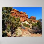 Impresión del parque nacional de Canyonlands Posters